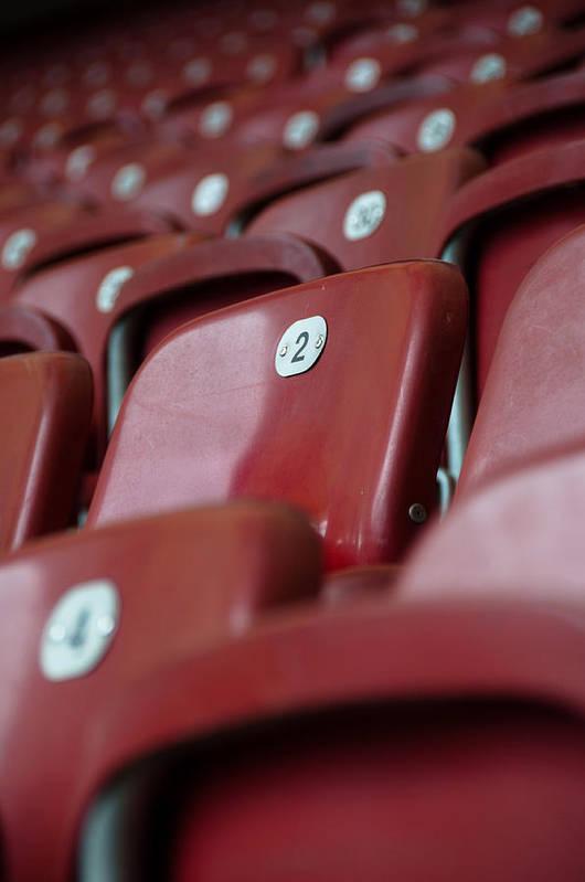Stadium Art Print featuring the photograph Stadium Seats by Frank Gaertner