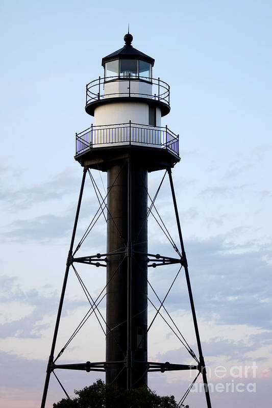 Lighthouses Art Print featuring the photograph Lighthouse by Lori Tordsen