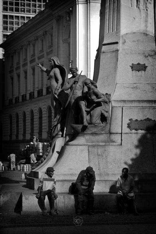 Monument Art Print featuring the photograph A Monument In Rio by Brian Archer