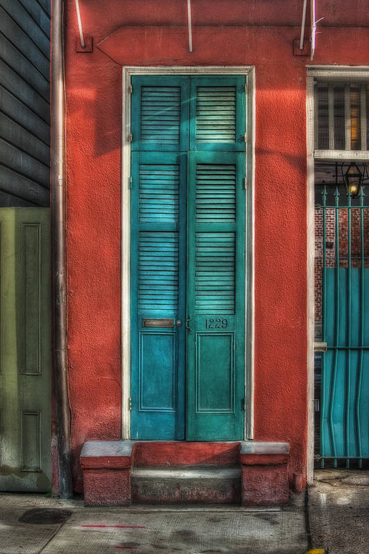 Door Art Print featuring the photograph A Place To Call Home by Brenda Bryant