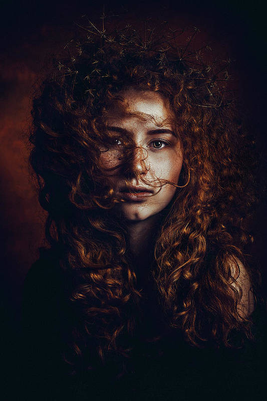 Red Hair Art Print featuring the photograph And God Said, Let There Be Redheads by Ruslan Bolgov (axe)