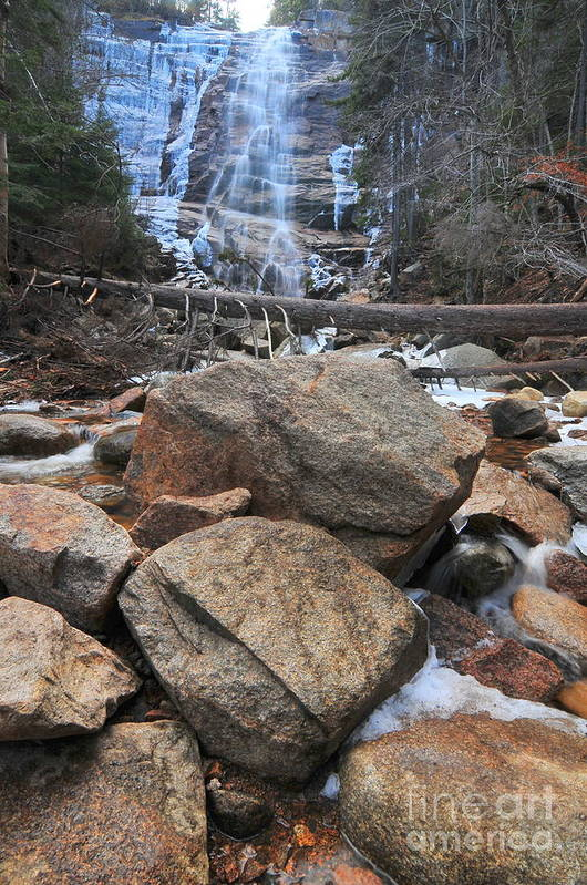 Arethusa Falls Art Print featuring the photograph Arethusa Falls by Catherine Reusch Daley