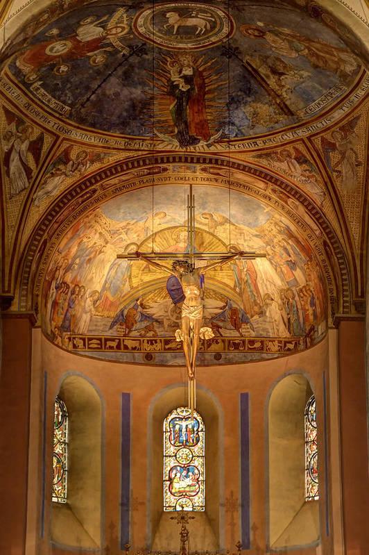 St. Servatius Art Print featuring the photograph Basilica Of Saint Servatius Maastricht The Netherlands by Marc Crutzen