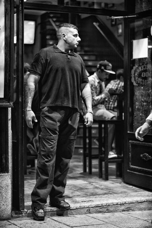 Bouncer Art Print featuring the photograph Bouncer by Pablo Lopez