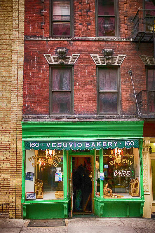 Store Art Print featuring the photograph Bread Store New York City by Garry Gay