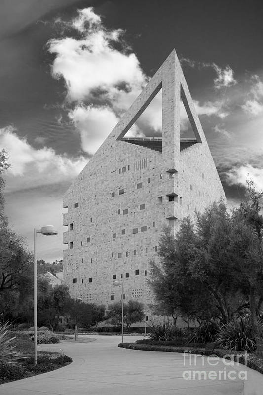 American Art Print featuring the photograph Cal Poly Pomona C L A by University Icons