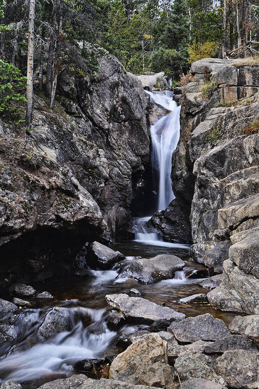 Chasm Falls Art Print featuring the photograph Chasm Falls by Frank Burhenn
