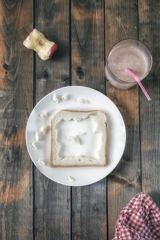 Eat Art Print featuring the photograph Child's Menu by Joana Kruse