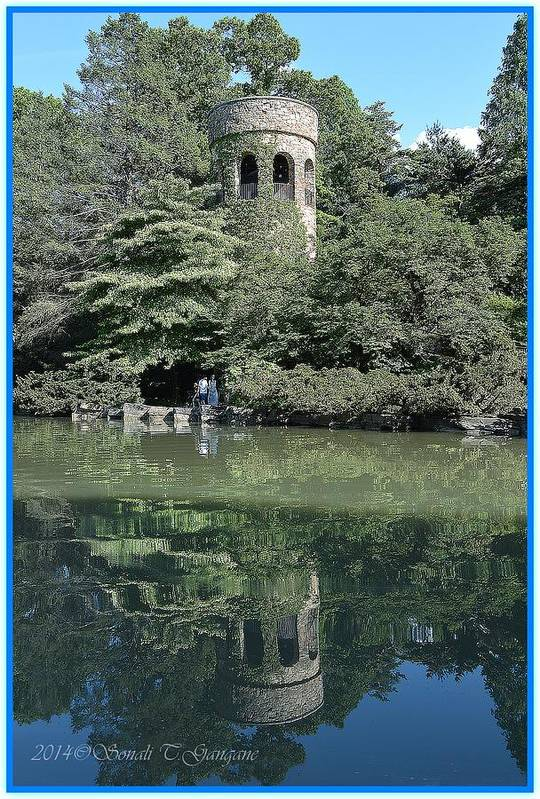 Chimes Tower Reflection Art Print featuring the photograph Chimes Tower Reflection by Sonali Gangane