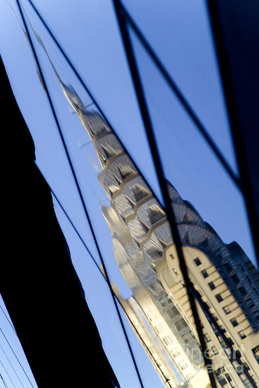 Chrysler Art Print featuring the photograph Chrysler Building by Tony Cordoza