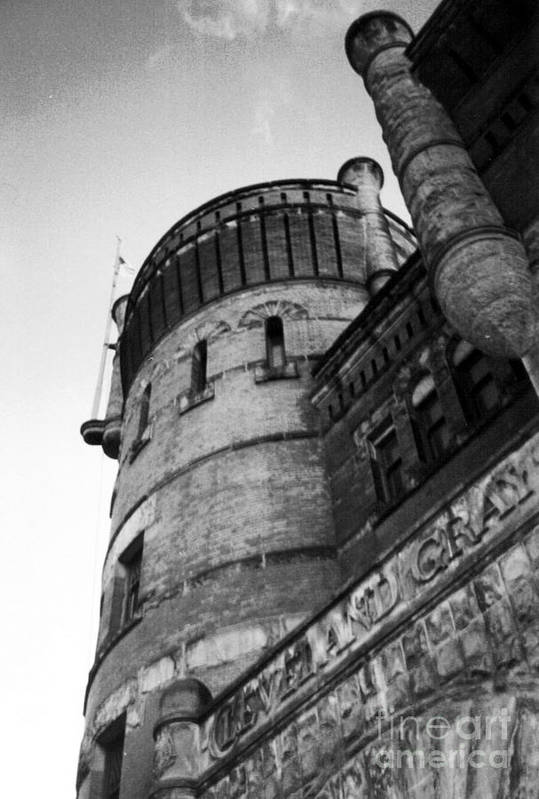 Cleveland Art Print featuring the photograph Cleveland Grays Armory by Patricia Januszkiewicz