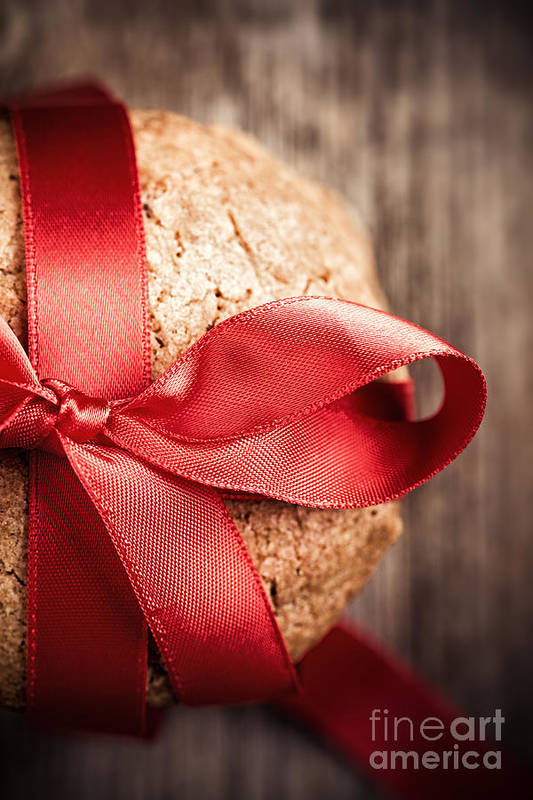 Cookies Print featuring the photograph Cookie Gift by Jane Rix