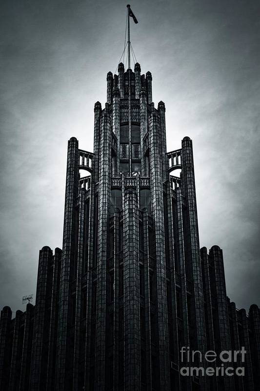 Manchester Art Print featuring the photograph Dark Grandeur by Andrew Paranavitana