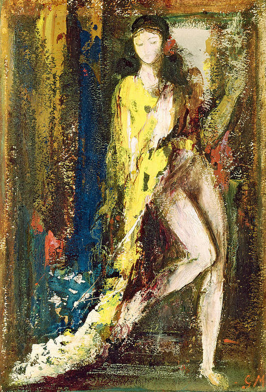 Delilah Art Print By Gustave Moreau
