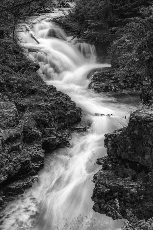 Art Art Print featuring the photograph Down The Stream by Jon Glaser