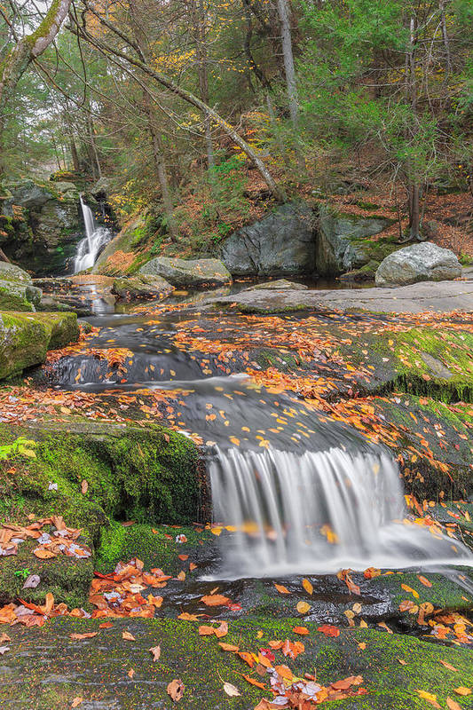 Enders Falls Art Print featuring the photograph Enders Portrait by Bill Wakeley