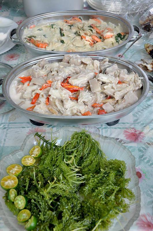 Filipino Food - Salad And Side Dishes Art Print