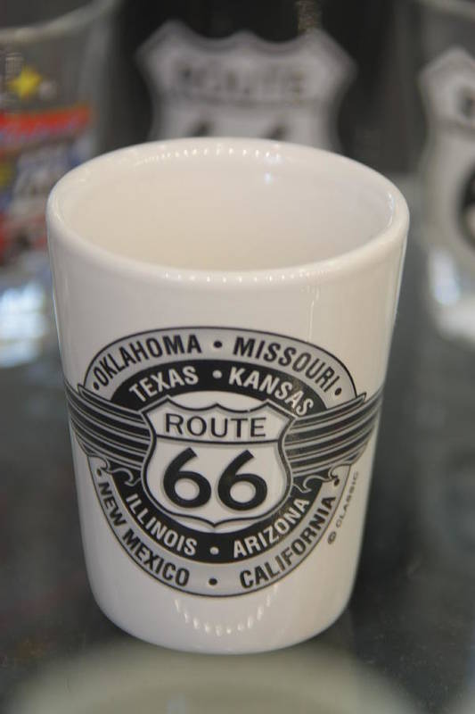 Route 66 Art Print featuring the photograph fill 'er Up by Steve Wilkes