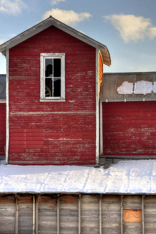 Ft Art Print featuring the photograph Ft Collins Barn 13496 by Jerry Sodorff