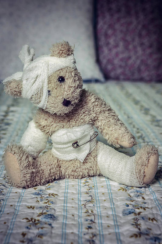 Teddy Art Print featuring the photograph Give Me Some Comfort by Joana Kruse