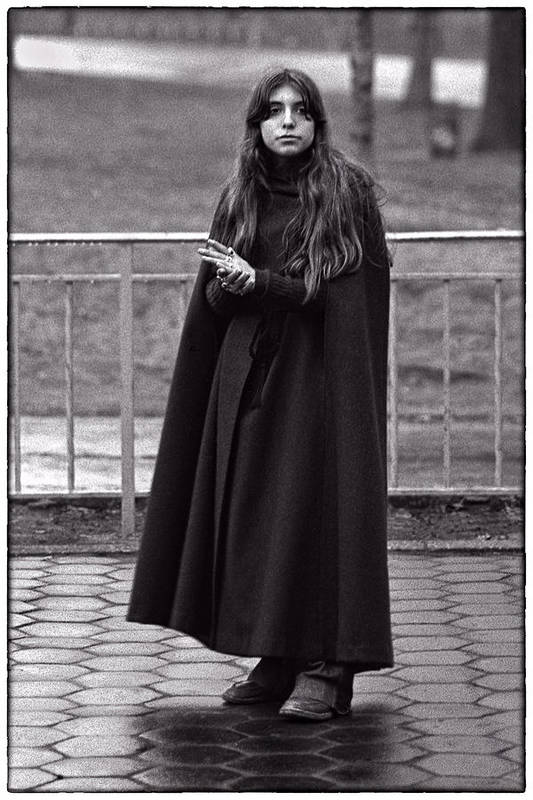 Girl. Portrait Art Print featuring the photograph Gothic Miss by Hal Norman K