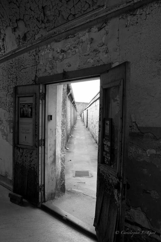 Eastern State Penitentiary Art Print featuring the photograph Guantlet by Chris Gent