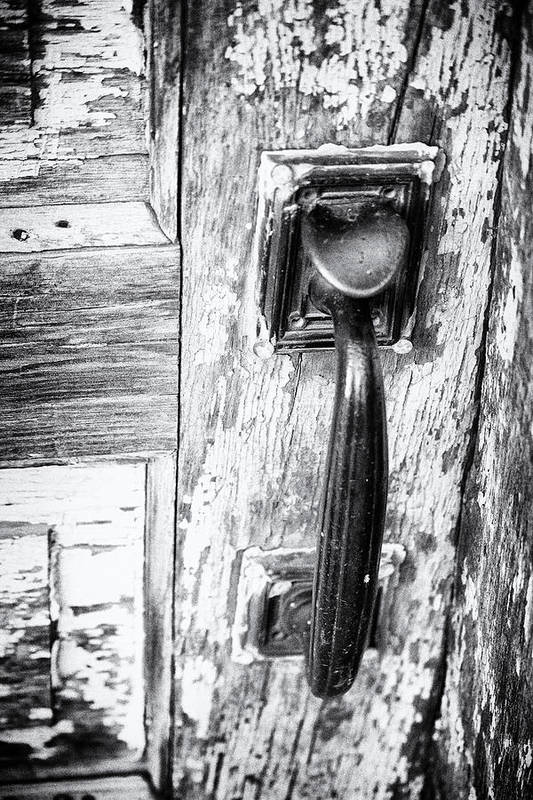 Black And White Art Print featuring the photograph Handle It by Tera Bunney