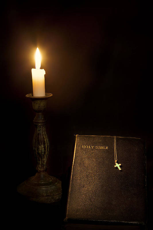 Bible Art Print featuring the photograph Holy Bible by Bill Wakeley