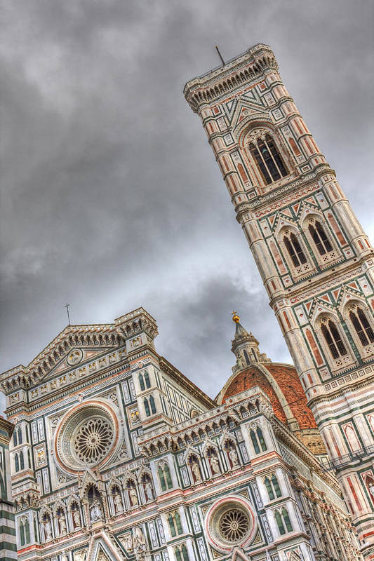 Il Duomo Art Print featuring the photograph Il Duomo by Michael Yeager