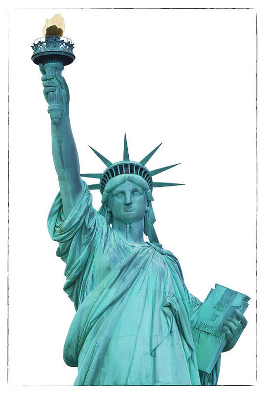 Usa Art Print featuring the photograph Lady Liberty by Jaroslav Frank