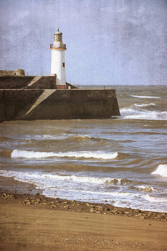 Lighthouse Art Print featuring the photograph Lighthouse by Amanda Elwell