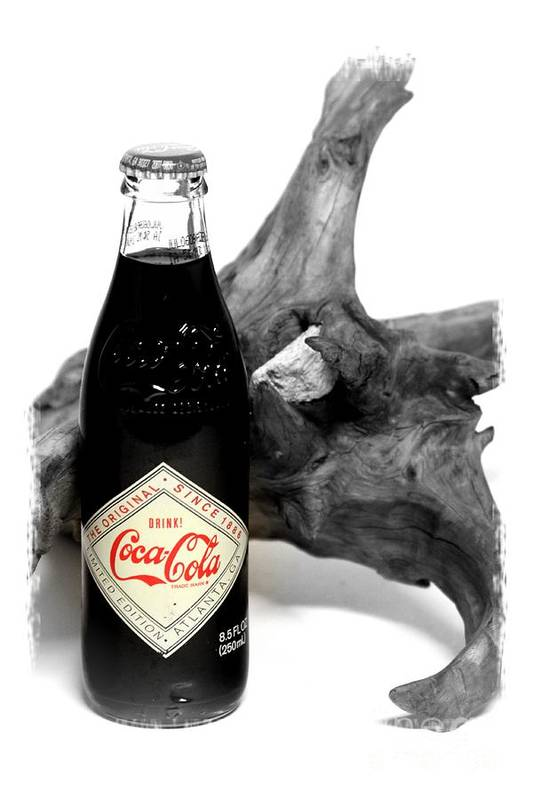 Limited Edition Bottles Art Print featuring the photograph Limited Edition Coke - No.438 by Joe Finney