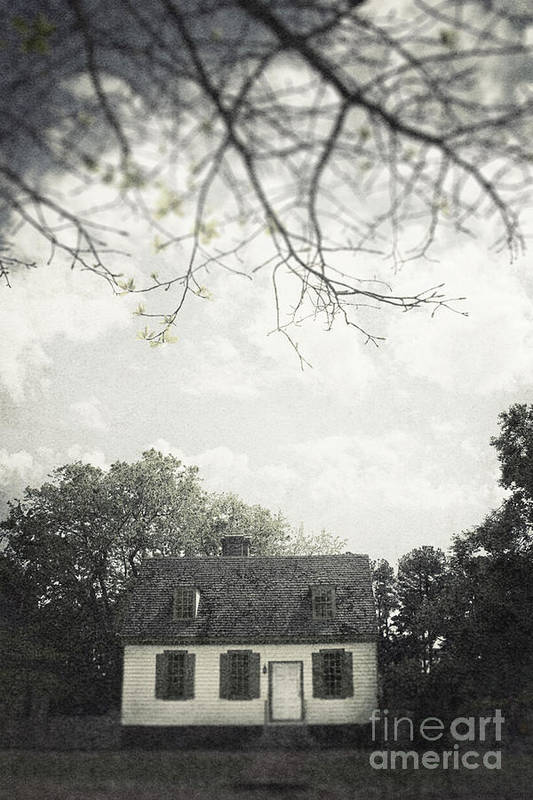 House Art Print featuring the photograph Looming by Margie Hurwich