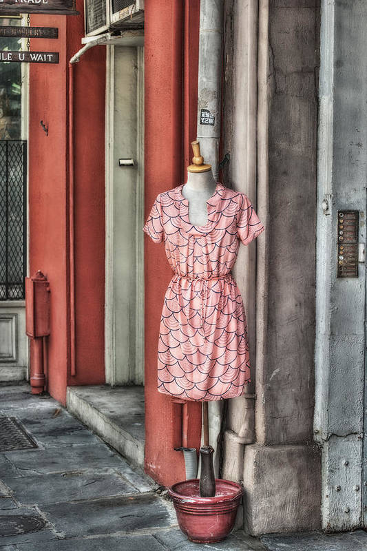 New Orleans Art Print featuring the photograph Market Fashion by Brenda Bryant