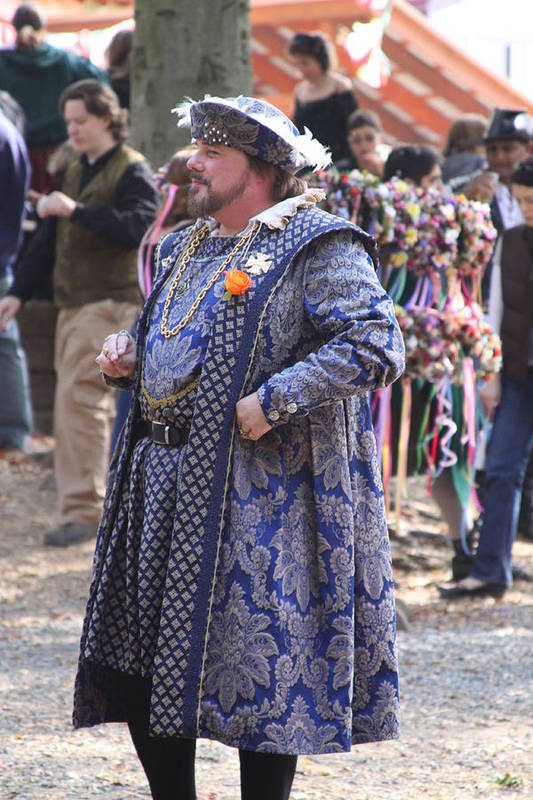 Maryland Art Print featuring the photograph Maryland Renaissance Festival - People - 121250 by DC Photographer