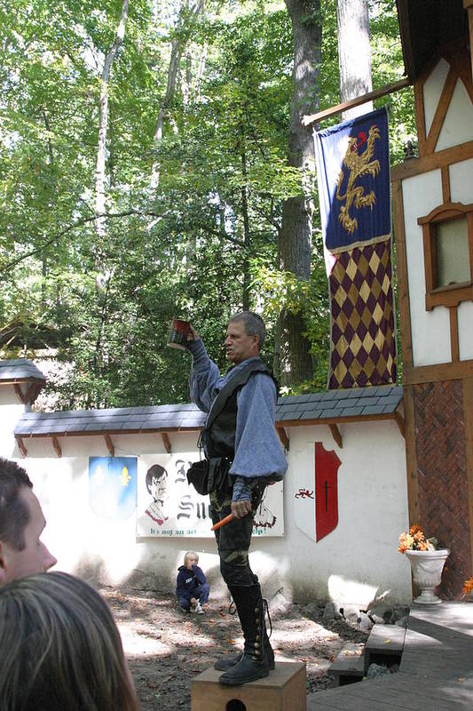 Maryland Art Print featuring the photograph Maryland Renaissance Festival - Puke N Snot - 12122 by DC Photographer