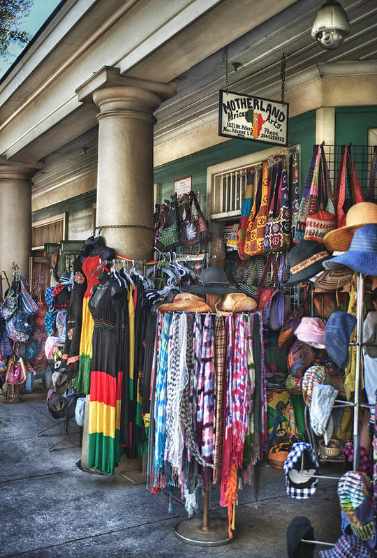 French Market Print featuring the photograph Motherland by Brenda Bryant