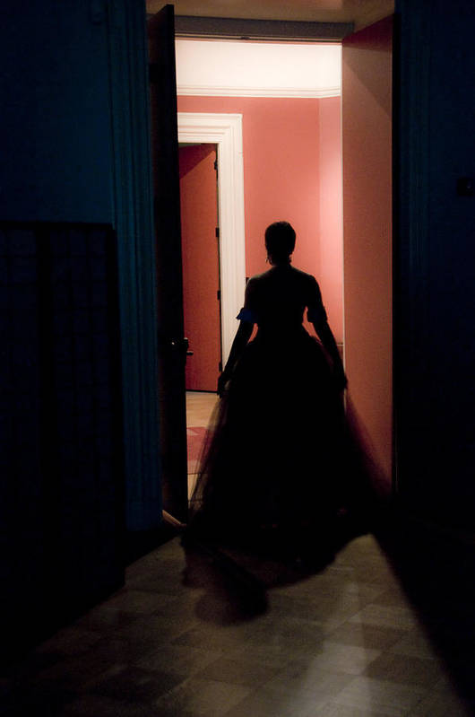Elegant Lady Art Print featuring the photograph Moving Into The Light by Scott Lenhart