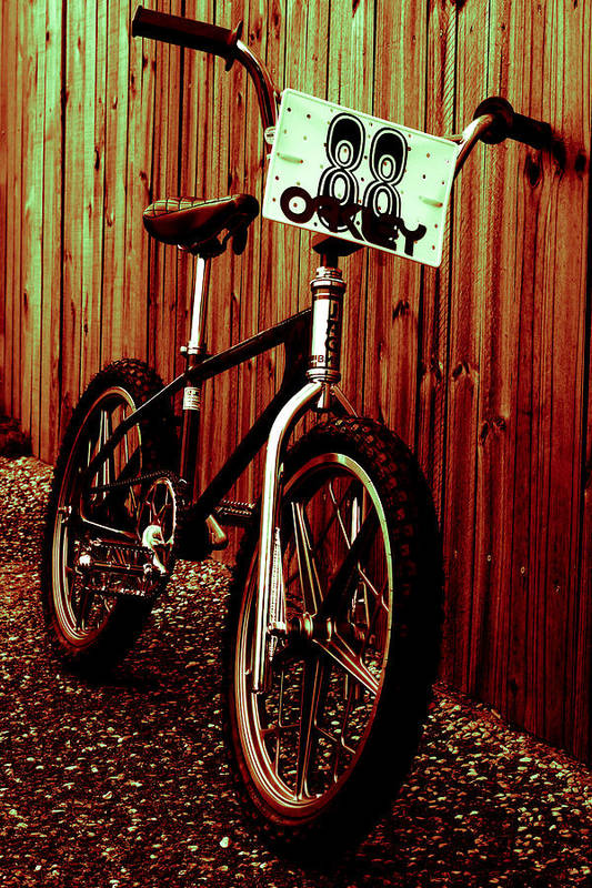 Bmx Art Print featuring the photograph Old School Bmx - Jag by Jamian Stayt
