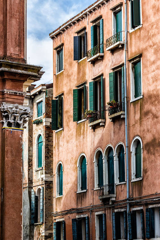 Italy Art Print featuring the photograph Old Venetian Walls. Italy by Francesco Rizzato