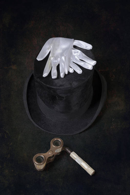 Top Hat Art Print featuring the photograph Opera by Joana Kruse