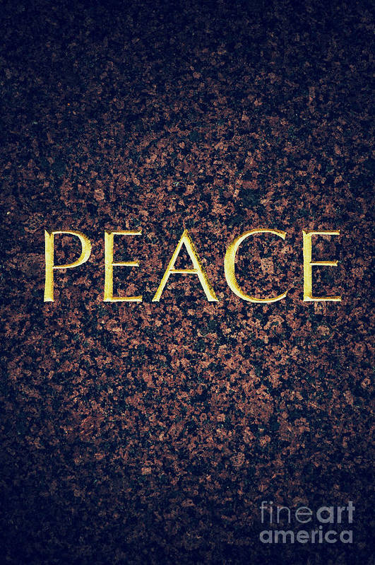 Peace Art Print featuring the photograph Peace by Tim Gainey
