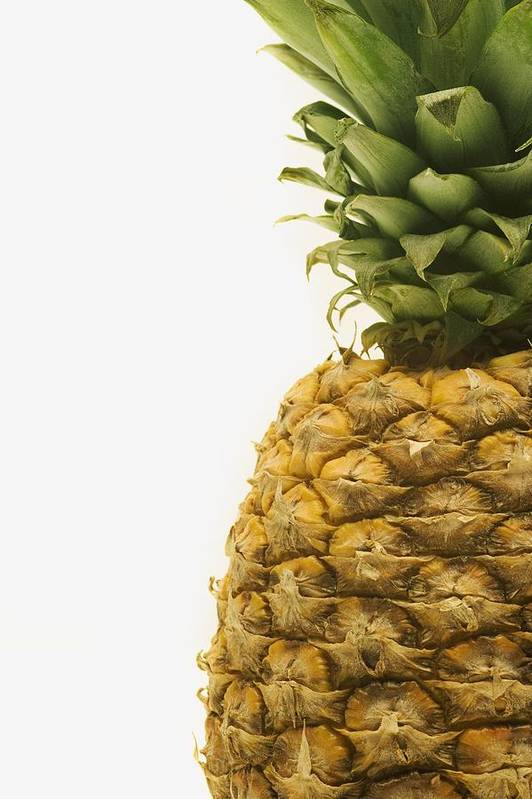 Close-up Art Print featuring the photograph Pineapple by Darren Greenwood