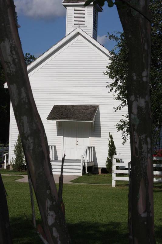 George Ranch Art Print featuring the photograph Prairie Church by Matt Johnson