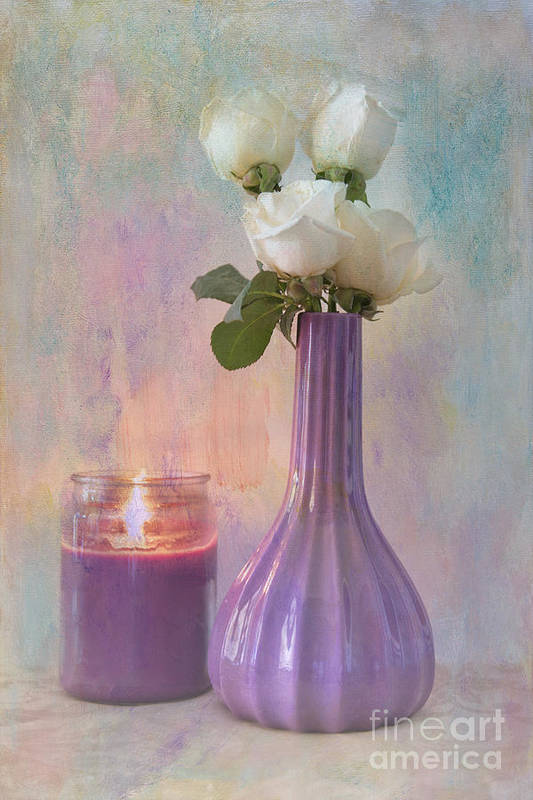 Still Life Art Print featuring the photograph Purity by Betty LaRue