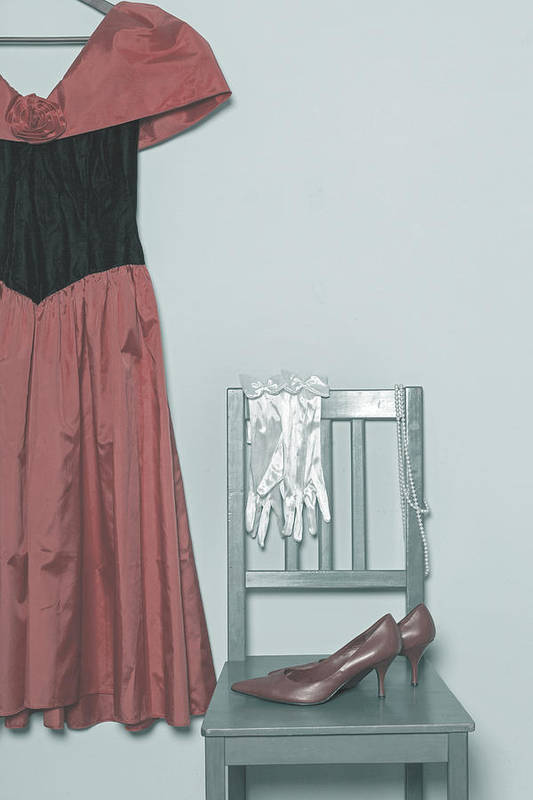 Dress Art Print featuring the photograph Ready To Go Out by Joana Kruse