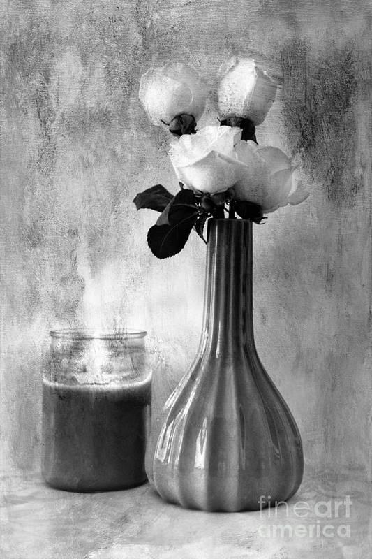 Creative Art Print featuring the photograph Romantic Light by Betty LaRue