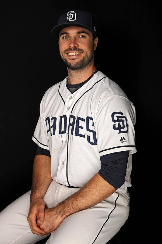 Media Day Art Print featuring the photograph San Diego Padres Photo Day by Patrick Smith