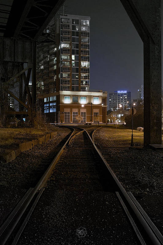 City Art Print featuring the photograph Shockoe Tracks by Brian Archer