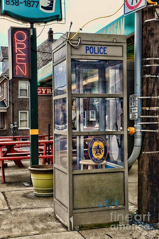 Paul Ward Art Print featuring the photograph Someone Call The Police by Paul Ward